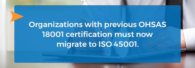 migrate to iso 45001