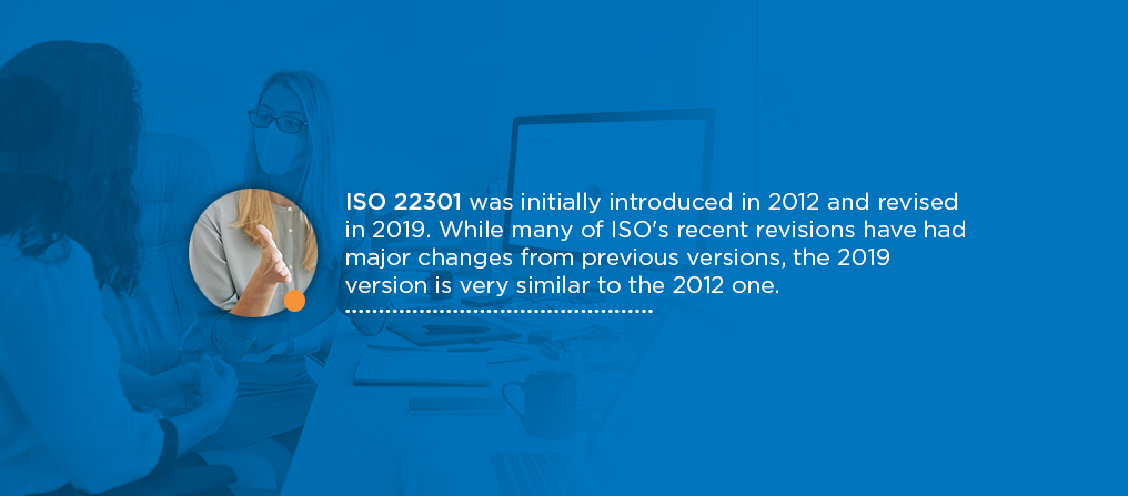 what is iso 22301
