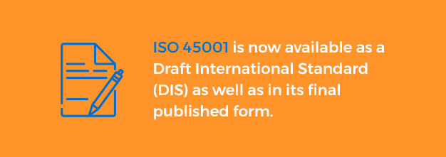iso 45001 published