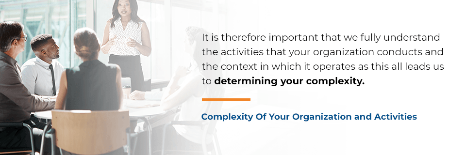 organization complexity