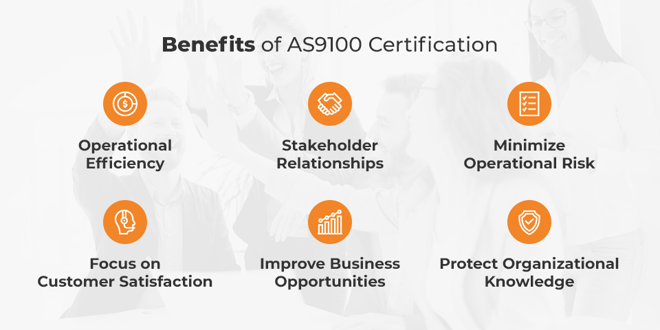benefits of as9100
