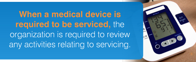 medical device servicing