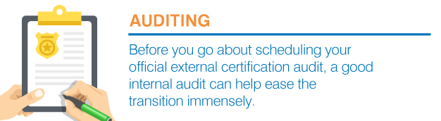 internal certification audit