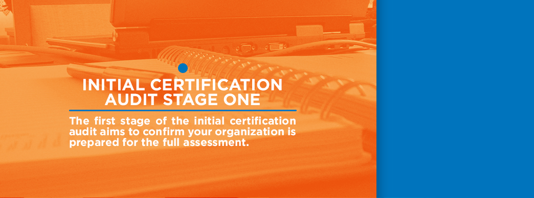 initial certification audit