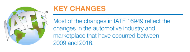 iatf key changes