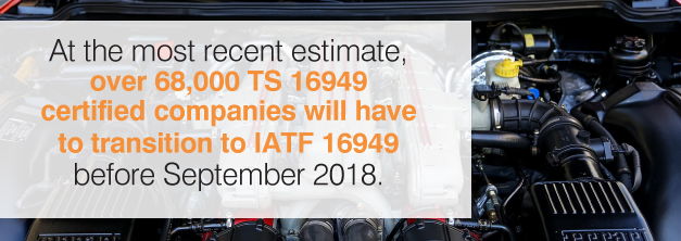 transition to iatf september