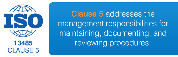ISO 13485 clause 5