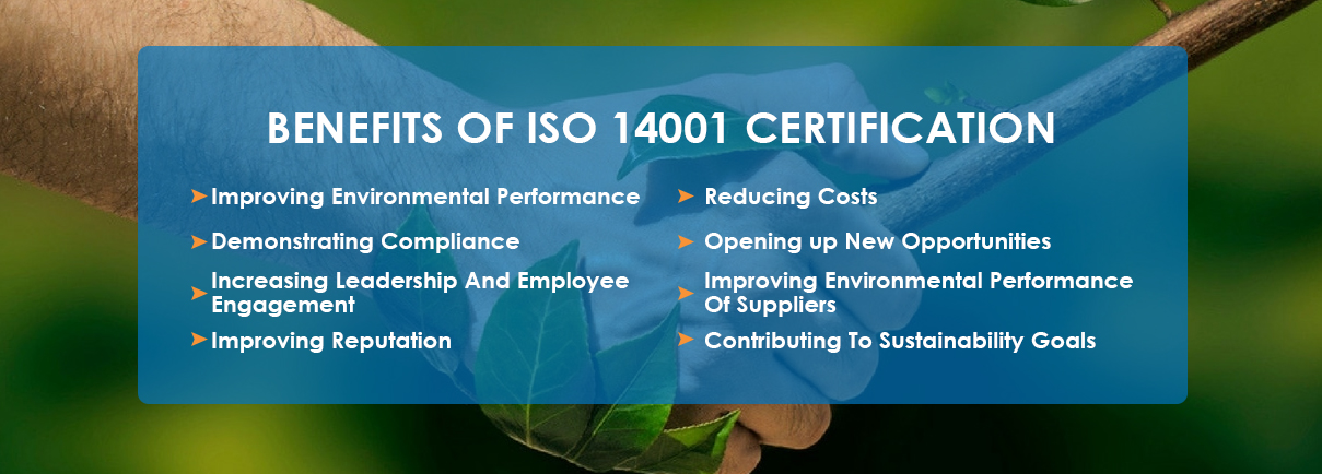 benefits of iso 14001 certification